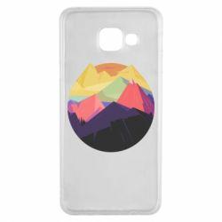 Чехол для Samsung A3 2016 The mountains Art