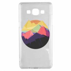 Чехол для Samsung A5 2015 The mountains Art