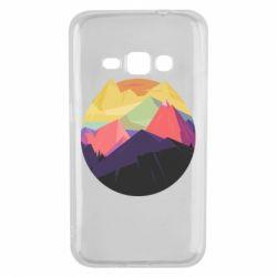 Чехол для Samsung J1 2016 The mountains Art