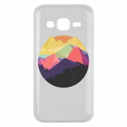 Чехол для Samsung J2 2015 The mountains Art