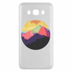 Чехол для Samsung J5 2016 The mountains Art