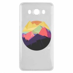 Чехол для Samsung J7 2016 The mountains Art