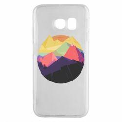 Чехол для Samsung S6 EDGE The mountains Art