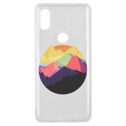 Чехол для Xiaomi Mi Mix 3 The mountains Art