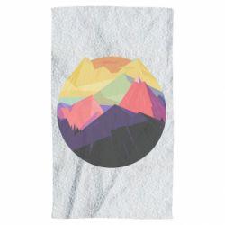 Полотенце The mountains Art
