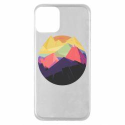 Чехол для iPhone 11 The mountains Art