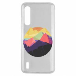 Чехол для Xiaomi Mi9 Lite The mountains Art