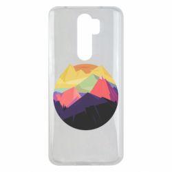 Чехол для Xiaomi Redmi Note 8 Pro The mountains Art