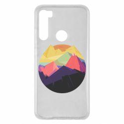Чехол для Xiaomi Redmi Note 8 The mountains Art