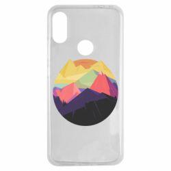 Чехол для Xiaomi Redmi Note 7 The mountains Art