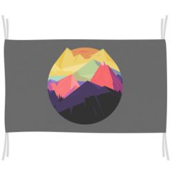 Флаг The mountains Art