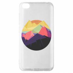 Чехол для Xiaomi Redmi Go The mountains Art
