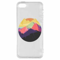 Чехол для iPhone5/5S/SE The mountains Art
