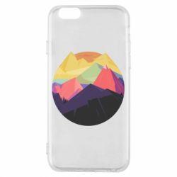Чехол для iPhone 6/6S The mountains Art