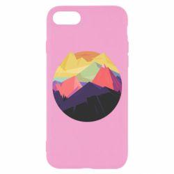Чехол для iPhone 8 The mountains Art