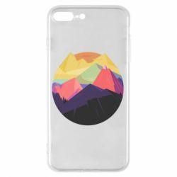 Чехол для iPhone 8 Plus The mountains Art