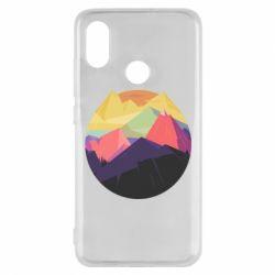 Чехол для Xiaomi Mi8 The mountains Art