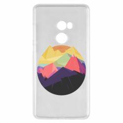 Чехол для Xiaomi Mi Mix 2 The mountains Art