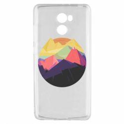 Чехол для Xiaomi Redmi 4 The mountains Art