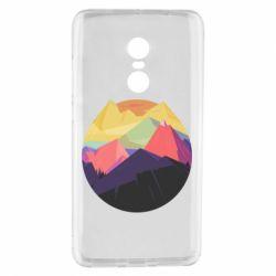 Чехол для Xiaomi Redmi Note 4 The mountains Art