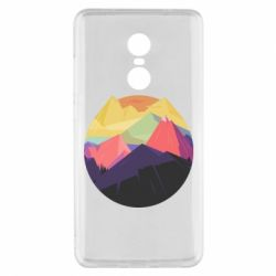 Чехол для Xiaomi Redmi Note 4x The mountains Art