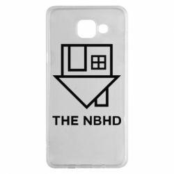 Чехол для Samsung A5 2016 THE NBHD Logo