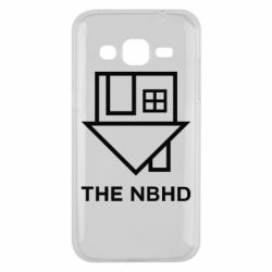 Чехол для Samsung J2 2015 THE NBHD Logo