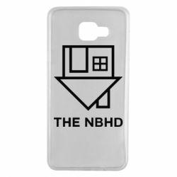 Чехол для Samsung A7 2016 THE NBHD Logo