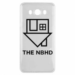Чехол для Samsung J7 2016 THE NBHD Logo
