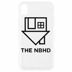 Чехол для iPhone XR THE NBHD Logo