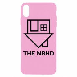 Чехол для iPhone Xs Max THE NBHD Logo