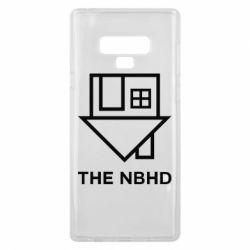 Чехол для Samsung Note 9 THE NBHD Logo