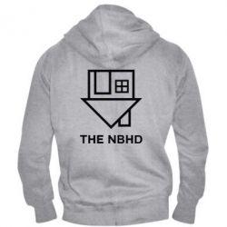 Мужская толстовка на молнии THE NBHD Logo
