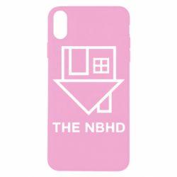 Чехол для iPhone X/Xs THE NBHD Logo