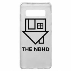 Чехол для Samsung S10+ THE NBHD Logo