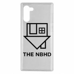 Чехол для Samsung Note 10 THE NBHD Logo