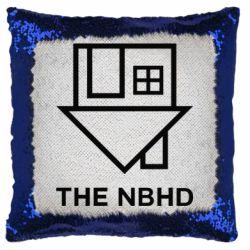 Подушка-хамелеон THE NBHD Logo