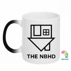 Кружка-хамелеон THE NBHD Logo
