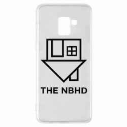 Чехол для Samsung A8+ 2018 THE NBHD Logo