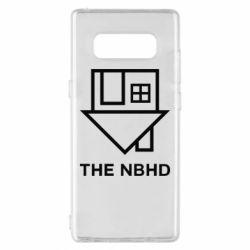 Чехол для Samsung Note 8 THE NBHD Logo