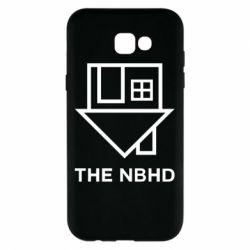 Чехол для Samsung A7 2017 THE NBHD Logo