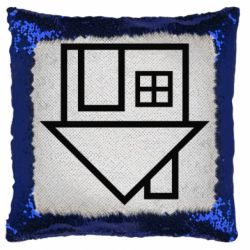 Подушка-хамелеон The Neighbourhood Logotype