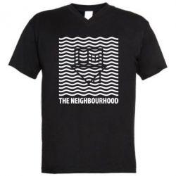 Мужская футболка  с V-образным вырезом The Neighbourhood Waves