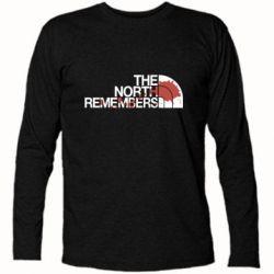 Футболка с длинным рукавом The north remember