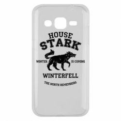 Чехол для Samsung J2 2015 The North Remembers - House Stark