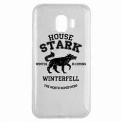 Чехол для Samsung J2 2018 The North Remembers - House Stark