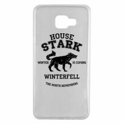 Чехол для Samsung A7 2016 The North Remembers - House Stark