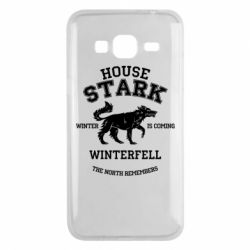 Чехол для Samsung J3 2016 The North Remembers - House Stark