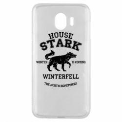 Чехол для Samsung J4 The North Remembers - House Stark