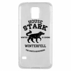 Чехол для Samsung S5 The North Remembers - House Stark